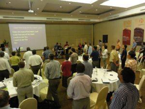Worship in Thailand last week